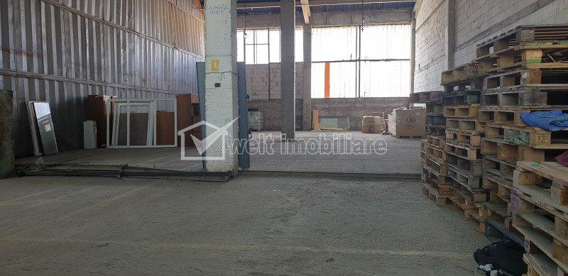 Spatiu de depozitare/productie la rampa, acces TIR