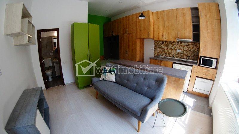 Garsoniera confort 1, prima inchiriere, 350 euro cu cheltuieli incluse, Horea
