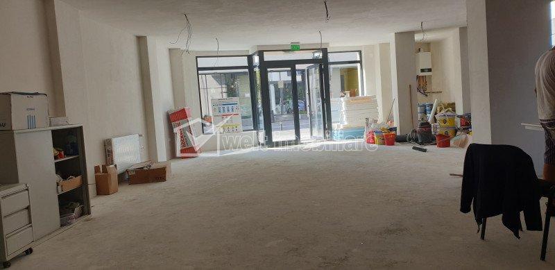 Vanzare spatiu comercial 111 mp, vitrina