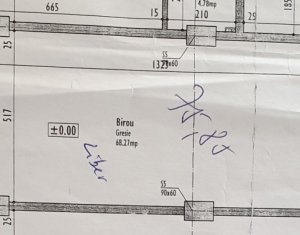 Vanzare spatiu birou 76 mp, semifinisat-Marasti
