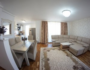 Inchiriere apartament 3 camere, garaj, A. Muresanu Sud, pana in 01 iunie 2020