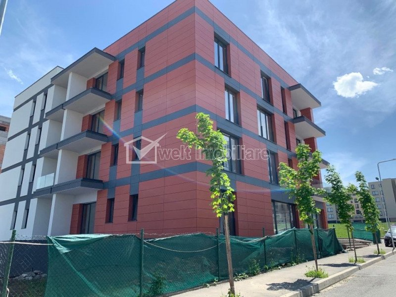 Apartament de vanzare in bloc nou, Andrei Muresanu, 2 camere decomandate, 57 mp