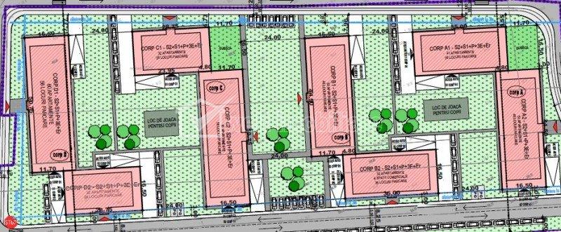 Apartamente 2, 3 si 4 camere, proiect nou, Calea Baciului