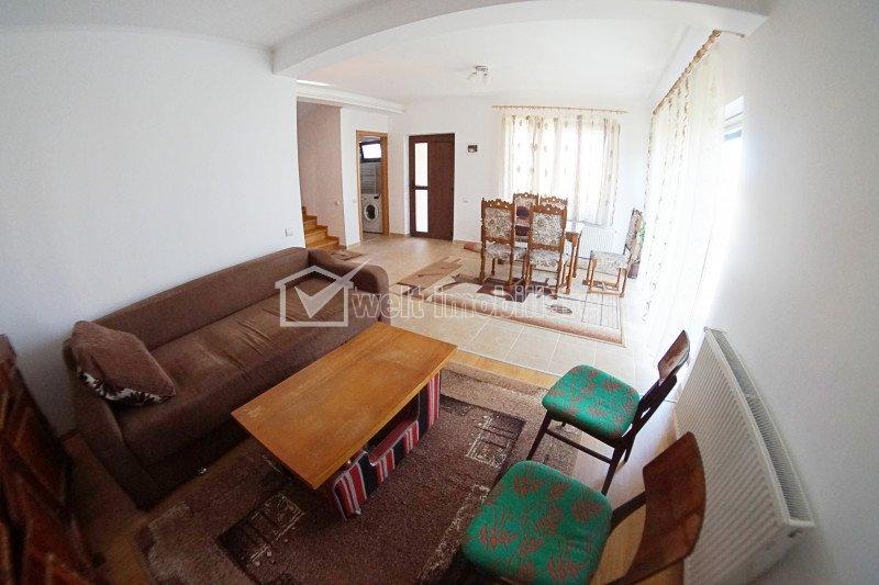 Casa in duplex, 4 camere, curte, pet friendly, parcare, zona Campului, 100mp