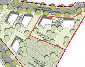 Teren de duplex cu PUZ aprobat, 1800 mp, pentru 4 unitati locative