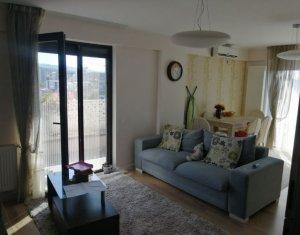 Apartament 4 camere, 2 bai, terasa panoramica, parcare, mobilat lux, Zorilor