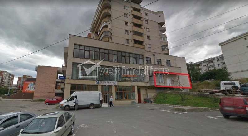 Vanzare spatiu 110mp inchiriat, in Plopilor zona Calvaria