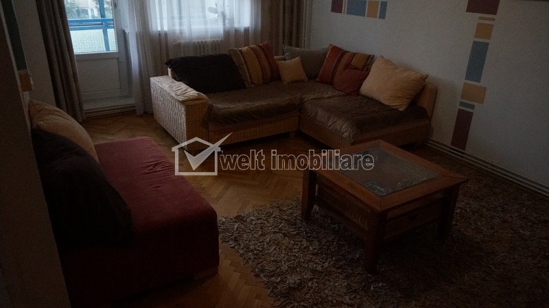 Inchiriere apartament 3 camere, decomandat, mobilat si utilat, Gradini Manastur