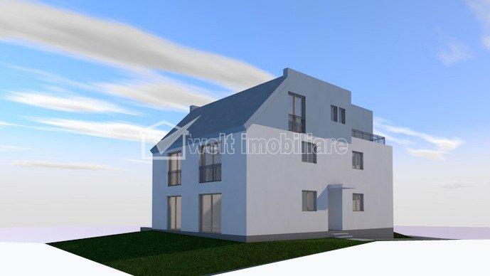 PROMO! Apartament cu 2 camere, Borhanci, 53 mp cu gradina, proiect nou!