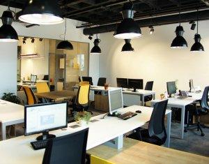 Spatiu de birou 1238 mp utili, Clasa A, Calea Turzii, servicii administrative
