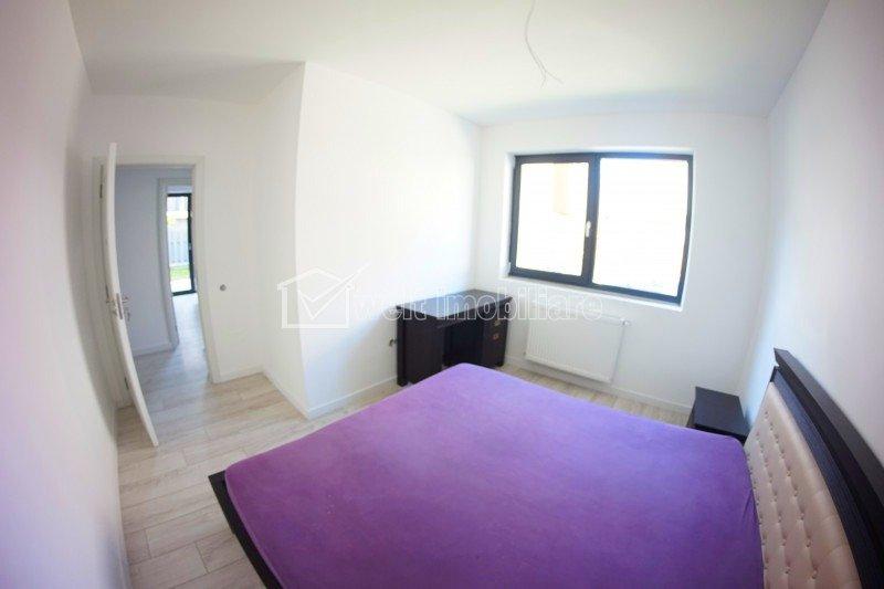 Apartament 3 camere, 75 mp, gradina 44 mp, parcare subterana, in Buna Ziua