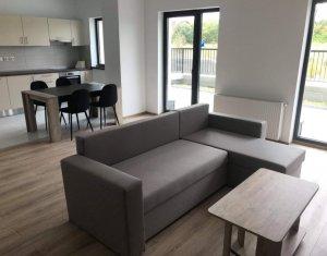 Apartament cu 1 camera, lux, prima inchiriere, cu terasa si gradina, Gheorgheni