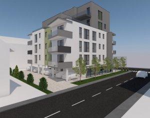 Apartament 3 camere, 98 mp, Borhanci, 2 bai, terasa 143 mp, parcare inclusa