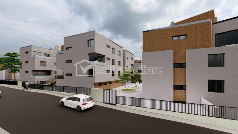 Apartamente de 3 camere, Andrei Muresanu Sud limita cu Buna Ziua