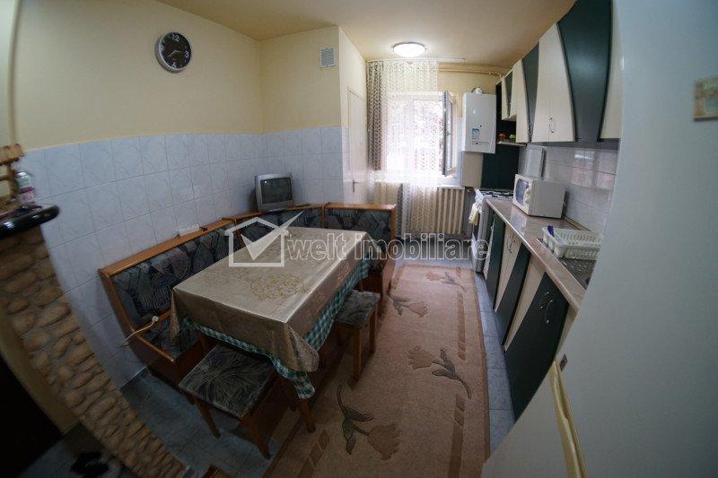 Apartament de 3 camere, decomandate, 64 mp, mobilat/utilat, parcare, Zorilor