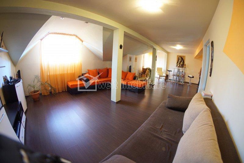 Inchiriere casa tip duplex, finisata, cartier Marasti, zona Dambovitei