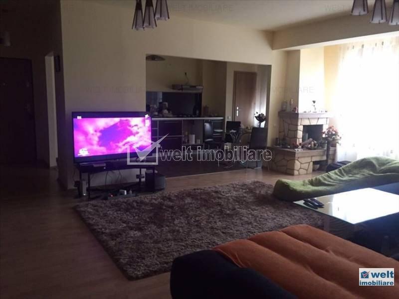 Apartament cu 2 camere, 78 mp, balcon mare,  in Gheorgheni, zona Interservisan