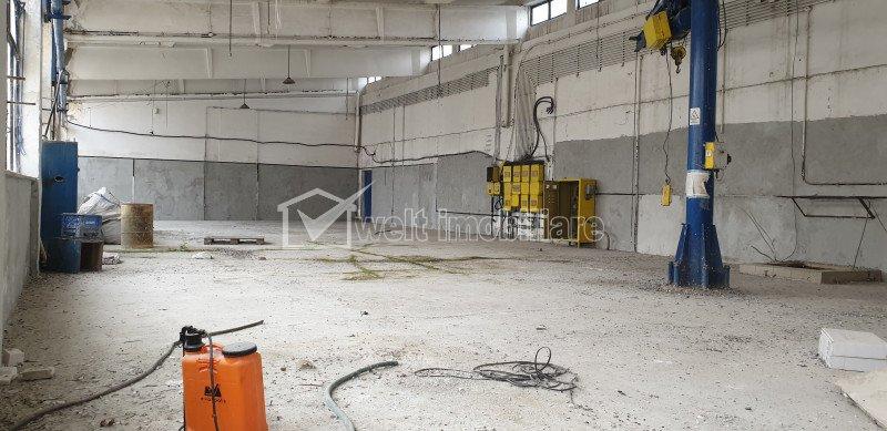 Hala depozit/productie, 350 mp utili, parcare, acces TIR