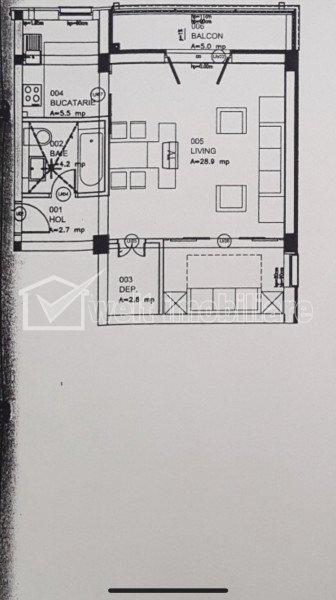 Apartament 44 mp, finisat, mobilat, parcare + boxa, zona Eroilor