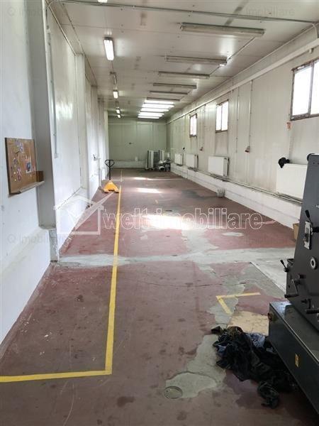 Spatiu industrial si cladire de birouri pentru sediu de firma 2000 mp, Iris