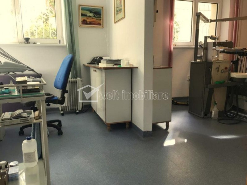 Cabinet stomatologic, central, utilat, cu portofoliu pacienti