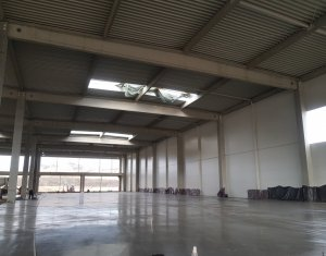 Complex de 4 hale/depozite in suprafata de 12.500mp Gilau nod autostrada A3