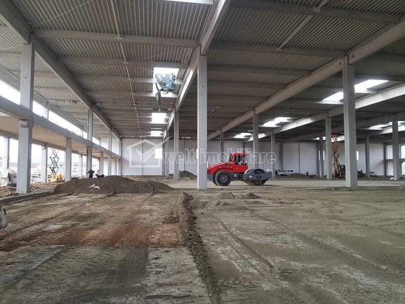 Hala industriala Clasa A, H=10m, zona Gilau nod A3, autorizatie ISU
