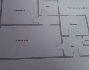 Apartament 2 camere, 37 mp, in Manastur, Casa Piratilor