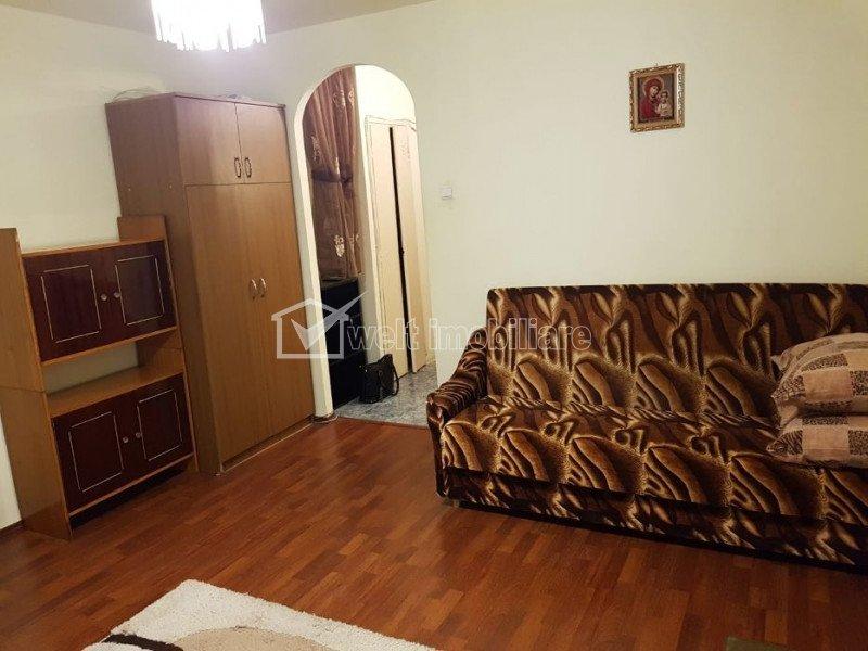 Garsoniera 28mp, etaj 4, zona Piata Flora, Manastur