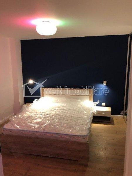 Apartament de inchiriat cu 2 camere, 45 mp, lux, zona stadion CFR, Gruia