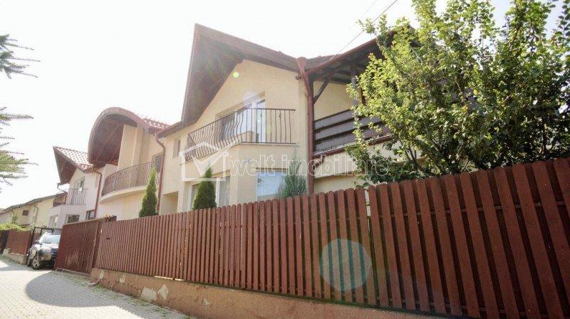 Casa cu 4 camere, SU 180 mp, alee cu bariera de acces, zona Eugen Ionesco