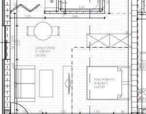 Apartament 1 camera, in Dambul Rotund, proiect nou, zona accesibila