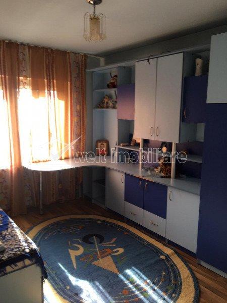 Apartament 3 camere decomandat, complet mobilat, zona Apahida