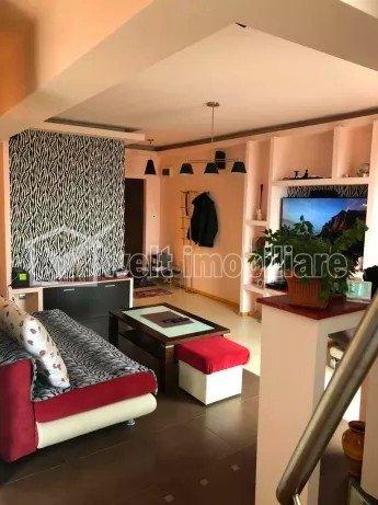 Apartament 3 camere, 91mp, 2 balcoane, 3 bai, dispus pe 2 niveluri, Gheorgheni