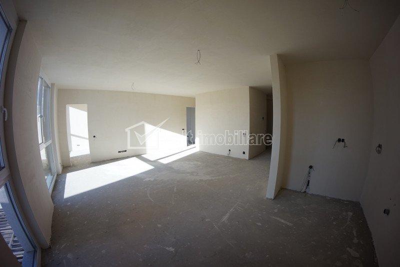 Apartament de vanzare, 3 camere, 74 mp, etaj intermediar, bloc nou, Gheorgheni