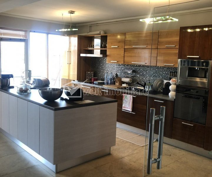Inchiriere penthouse exclusivist, modern, terase, 180 mp, Gheorgheni