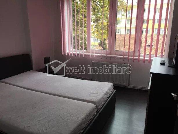 Inchiriere apartament  2 camere, decomandat, Gheorgheni, zona P. Hermes