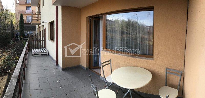 Inchiriere apartament 3 camere decomandat, 85 mp, parcare, terasa, Manastur