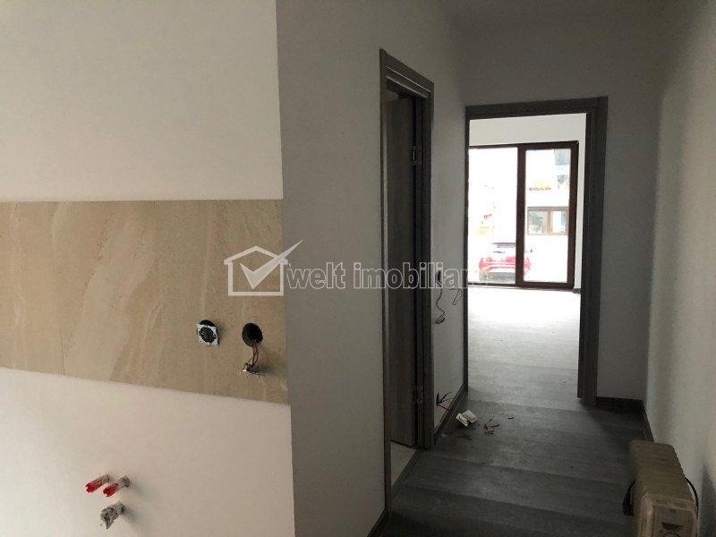 Apartament 3 camere, gradina 86 mp, finisat, zona Tauti