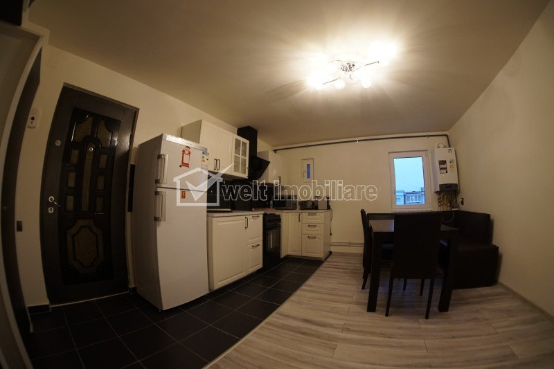 Apartament cu 2 camere, 60mp, ultrafinisat, str. Scortarilor, cartier, Marasti