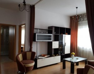 Inchiriere apartament 2 camere, bloc nou, 56 mp, parcare subterana, zona Centru