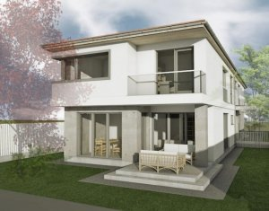 Casa tip duplex in Dezmir, zona planoarelor, drum asfaltat