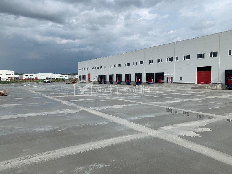 Hala industriala clasa A 5500mp, H 12 m, spatii de birou,  Apahida, zona Nervia