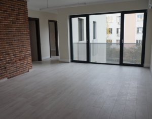 Apartament cu 3 camere, 80 mp, imobil nou, zona The Office