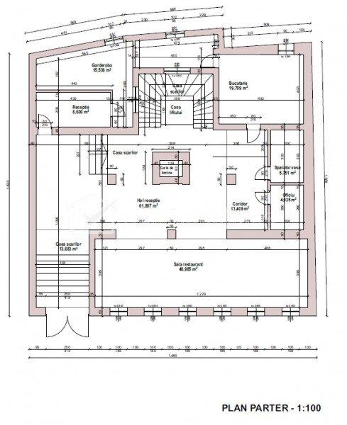 Cladire 1350mp, ultracentral, destinatie sediu firma, clinica, apart hotel