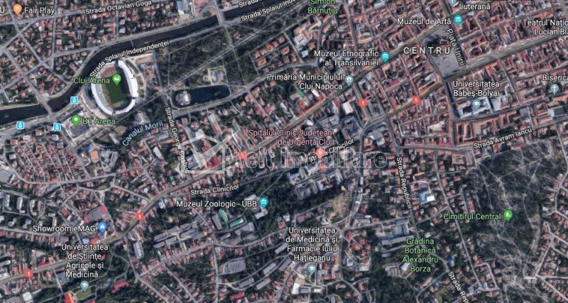 Teren pt bloc, clinica, birouri, hotel, zona centrala