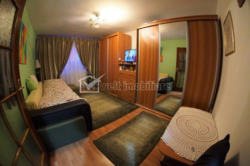 Apartament cu 2 camere decomandate, 54 mp, Manastur