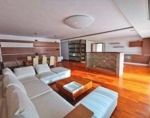 Apartament lux 3 camere, 140 mp, 2 bai, garaj, terasa, etaj 1 din 3, Grigorescu