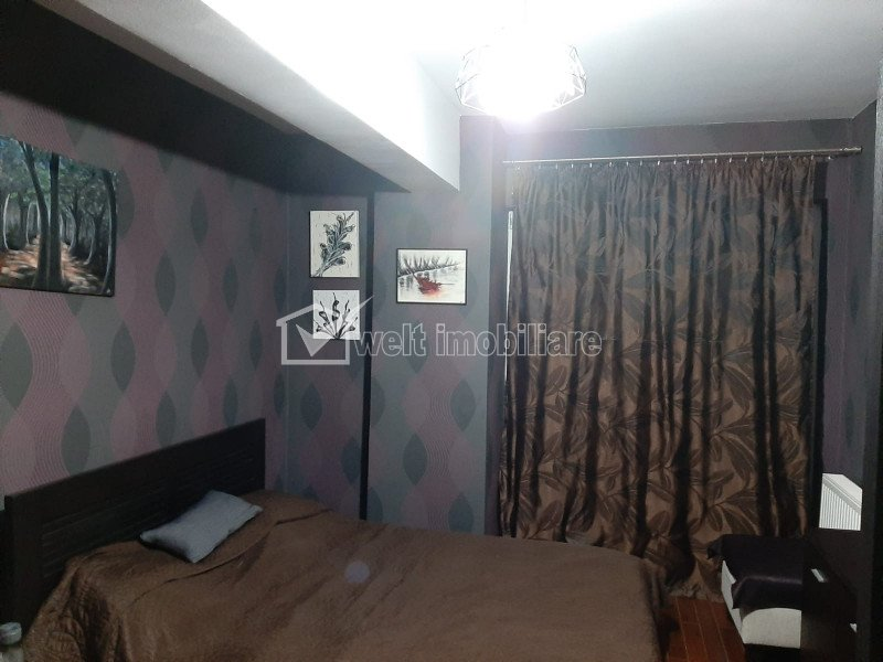 Apartament cu 3 camere, 86mp, finisat, mobilat, Bonjour