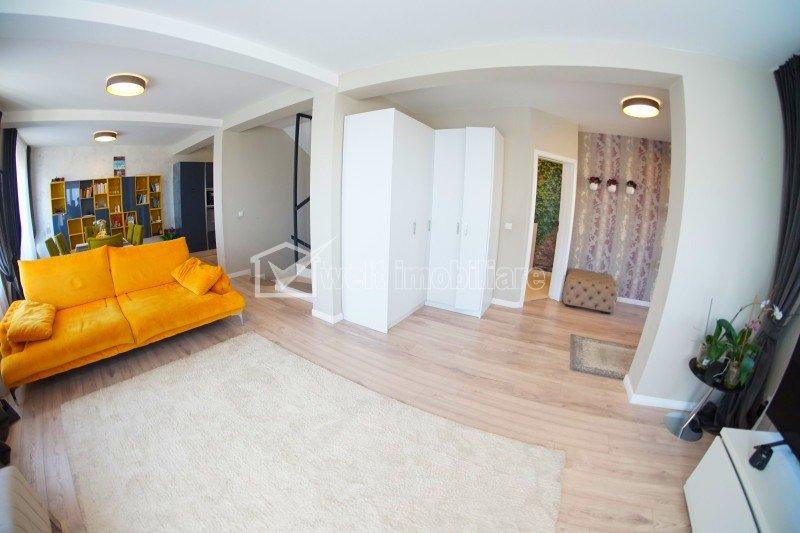 Casa ULTRAMODERNA, 182 mp, teren 340 mp, 2 garaje, D+P+E, Feleacu, CF